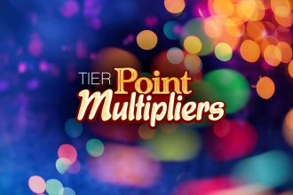 Tier Point multipliers at Casino Del Sol