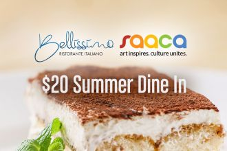 SAACA Summer Dine In at Bellissimo