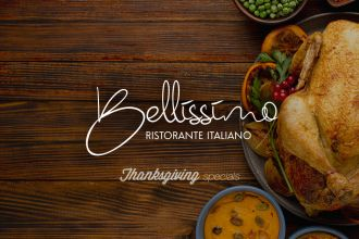 Thanksgiving Specials at Bellissimo
